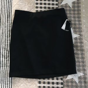 PREMISE STUDIO NWT straight black skirt women's M